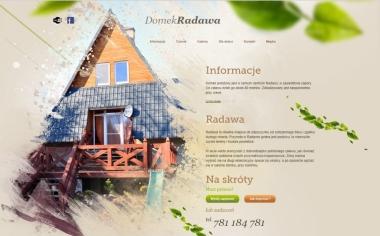 Domki w górach Radawa